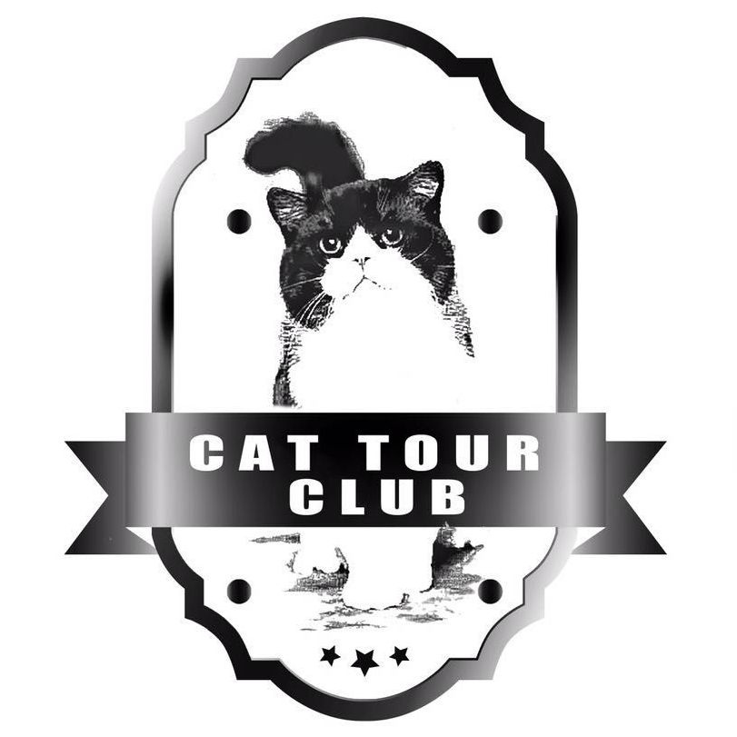 logo cat tour club